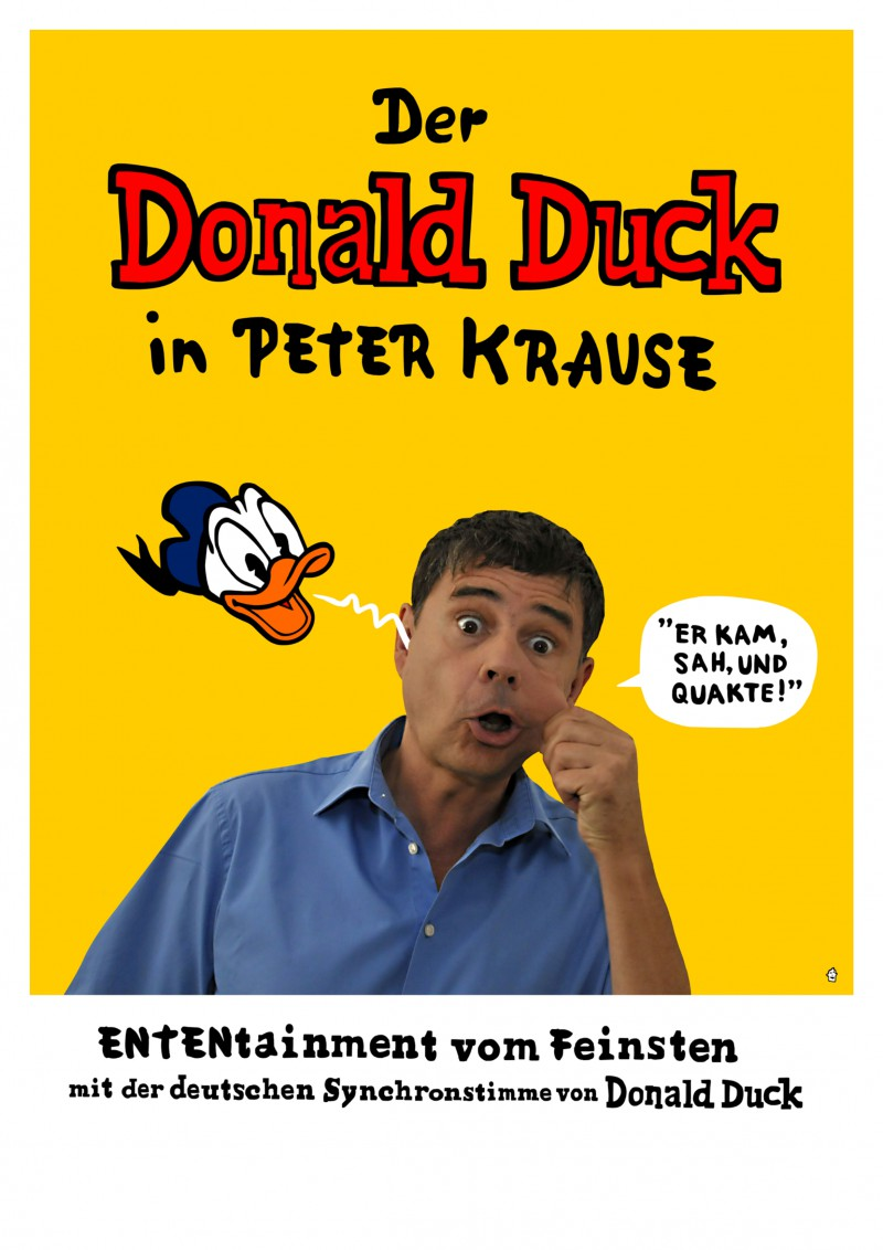 Donald Duck in Peter-Krause